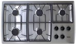 Simmer Plate For Gas Cooktop Bosch Ngp945uc 36 Inch Gas Cooktop With 15 000 Btu High Output