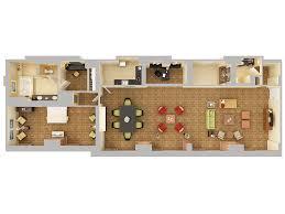 Presidential Suite Floor Plan by Hilton Orlando Hotel Suites