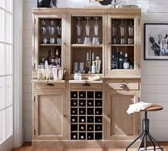 Modular Bar Cabinet Modular Bar Buffet With 2 Wine Grid Bases 1 Glass Door Base