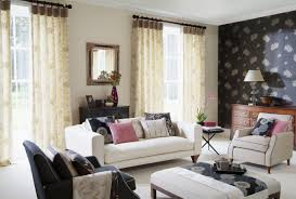 Contemporary Living Room Curtain Ideas Living Room Curtains For Large Living Room Windows Window