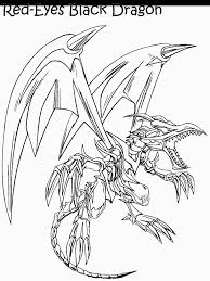 red eyes black dragon colouring pages coloring