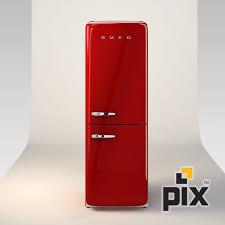 3d model smeg fridge freezer 3d model 3d modeling pinterest
