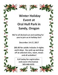 calendar of events hull park and retreat center for the blind