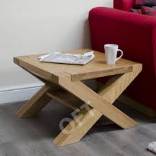 cross leg coffee table michigan solid oak furniture square cross leg coffee table ebay
