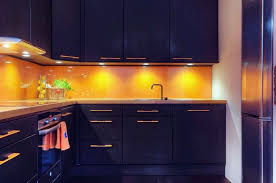 backsplash for yellow kitchen furniture small black kitchen with l shaped black kitchen