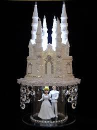 castle cake topper cinderella castle cake topper wedding fairytale princess