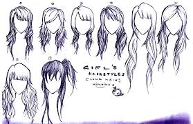 long hair styles for girls ii by puccalabsgaru on deviantart