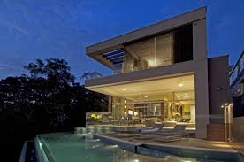 waterfront residence modern waterfront house design in suburb of