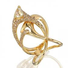 designs gold rings images Yellow gold modern ring cocktail ring designer rings on sale jpg