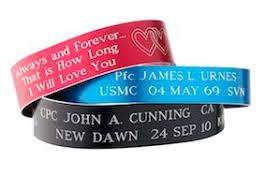memorial bracelets for loved ones memorial bracelets victims of terrorism and killed in