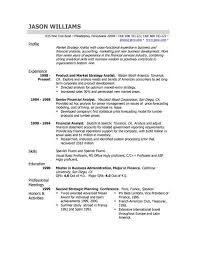 Examples Of A Simple Resume by Good Simple Resume Format Freshers Sample Resume Tips Writing