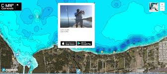 Most Accurate World Map by C Map And Fishbrain Partner To Integrate Maps And App Gofree