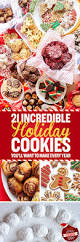 21 cookies you need to make for the holidays