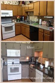 Kitchen Cabinets Before And After Annie Sloan Kitchen Cabinets Before And After 3879