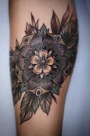 76 brilliant mandala tattoos you wish to have flower mandala