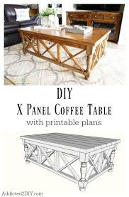 Wooden Coffee Table Plans Diy by 66 Best Trend Alert X Design Images On Pinterest Furniture