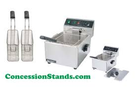 table top fryer commercial commercial deep fryer 5 star chef commercial deep fryer w double