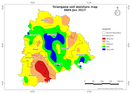 Soil Maps Soil Moisture Map For The State Of Telangana Aapah Innovations