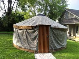 building a tent platform yurt without steel 10 steps with pictures