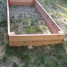 Box Gardening Ideas Gorgeous How To Build A Simple Raised Garden Bed Gardening Ideas
