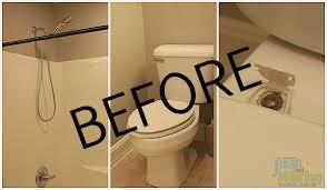 easy bathroom makeover u0026 a decorative toilet paper holder tutorial