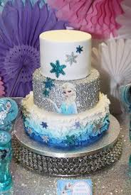 frozen cakes and decoration ideas for the greatest birthday party