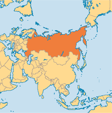 Russia Map Russia Operation World