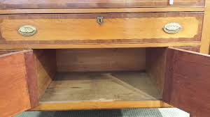 federal inlaid cherry sideboard sale number 3038b lot number