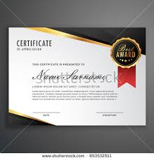 creative certificate appreciation award template blue imagem