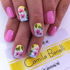 397 best nail flowers nail art images on pinterest flower nails