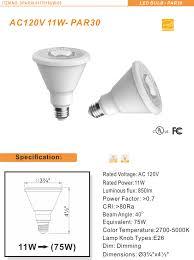 led bulbs par30 011t 27kd