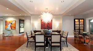 contemporary dining room chandelier endearing decor modern dining