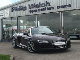used audi used audi r8 spyder v10 quattro 6 speed manual brown 5 2