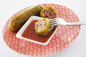 cuisine bebe 18 mois courgettes farcies au boeuf et au riz à la tomate une recette de