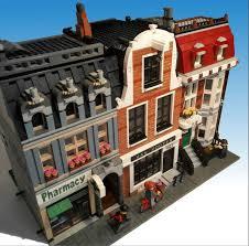 lego ideas canal house modular art gallery