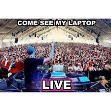 Meme Laptop - come see my laptop live dj memes and comics