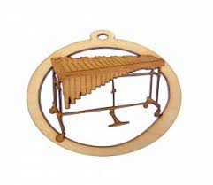 marimba set ornament charleston ornaments handcrafted and