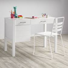 Modern Kids Desk Uptown Desk White The Land Of Nod