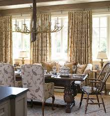 window treatments for living room and dining room modern window