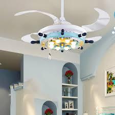 Light Fixtures With Fans 110v 220v Led Ceiling Fans Modern Dining Lighting Rustic