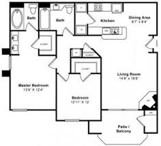Sycamore Floor Plan Windsor At Redwood Creek Apartments 600 Rohnert Park Expressway