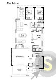 The Paragon Floorplan M Frontage Square Block Design X - Smart home design plans