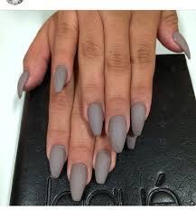 matte grey nails nails pinterest gray nails makeup and matt