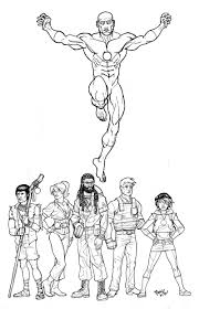 captain planet coloring pages selfcoloringpages