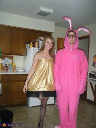 a story character costumes leg l and pink