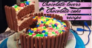 chocolate lovers dream chocolate cake recipe lojo vs the world