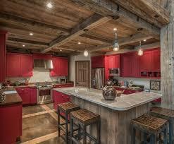 cuisine bois rustique cuisine de charme idées pour la cuisine rustique moderne
