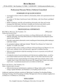 Writers Resume Sample by Resume Professional Writers Resume Example