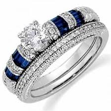 Blue Wedding Rings by Wedding Rings For Women On Hand Ring Beauty