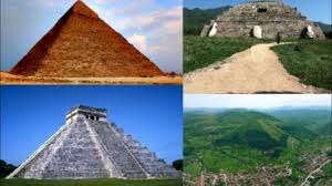 pyramids around the world where did they really come from